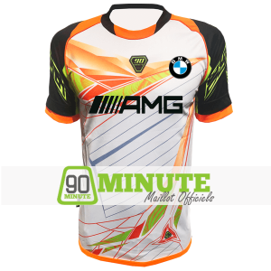 90 Minute Jersey MM4 White 2019