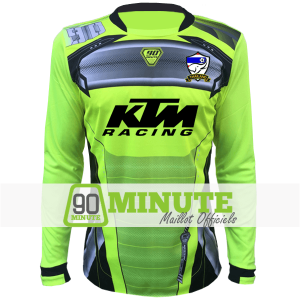Maillot 90 Minute Anis Manches Longues MM5