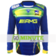 Maillot 90 Minute Bleu Manches Longues MM5
