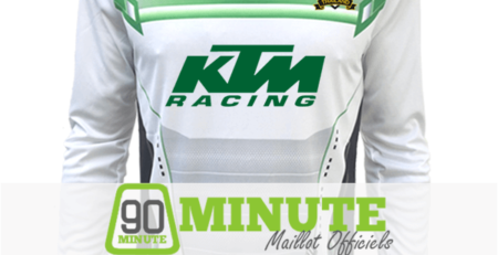 Maillot 90 Minute Blanc Manches Longues MM5