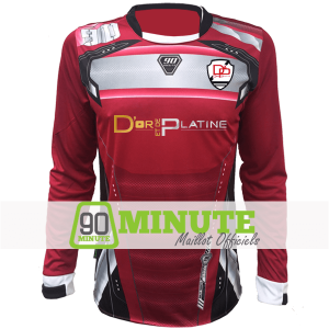 Maillot Manches Longues 90 Minute Or et Platine MM5