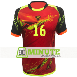 Maillot 90 Minute MM4 Espagne 2018
