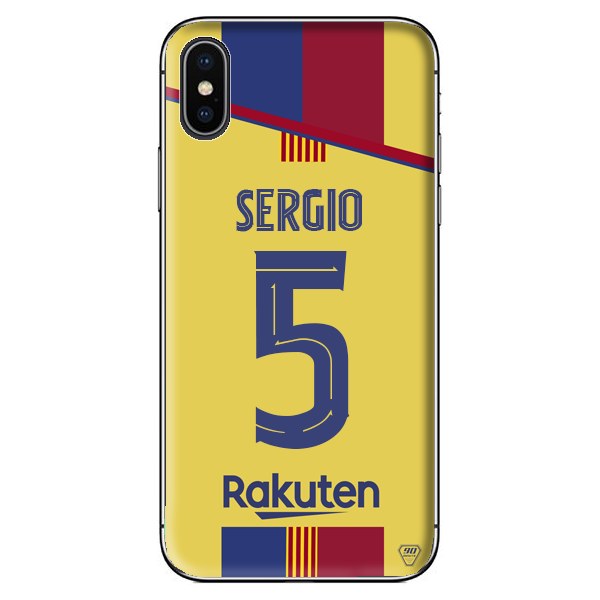 Coque Football Barcelone Exterieur 2019-20